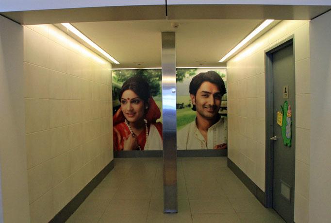 Toiletten auf dem Flughafen