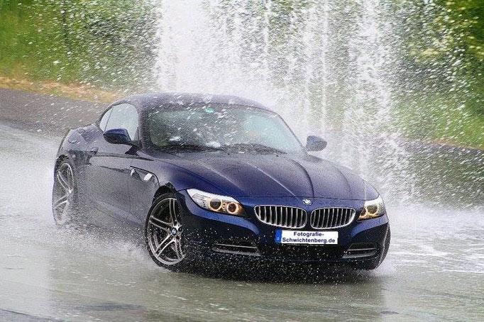 BMW Z4 E89 Action Bilder beim Fahrsicherheitstraining