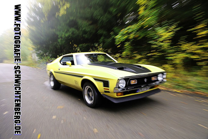 Autofotograf - Ford Mustang Mach1
