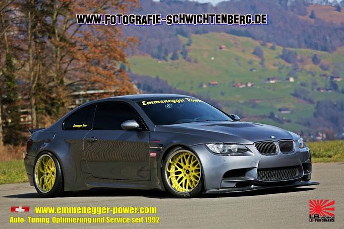 BMW M3 E92 aus der Schweiz