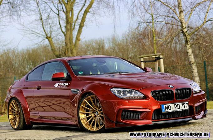 BMW M6 Fotoshooting