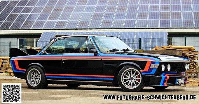 03/2014 Ein BMW E9-Badmobil mit einem M635 Motor im schönen Sauerland abgelichtet