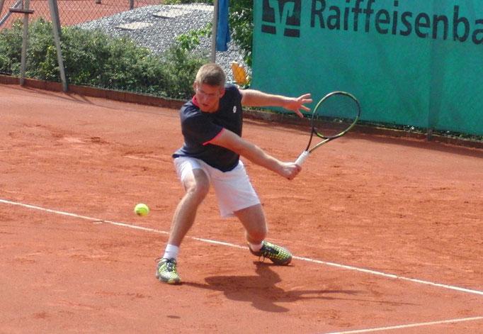 Halbfinalist Robin Lang