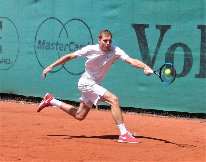 Viertelfinalist Dominik Bartels