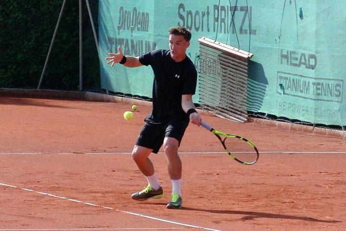 Viertelfinalist Ralph Regus