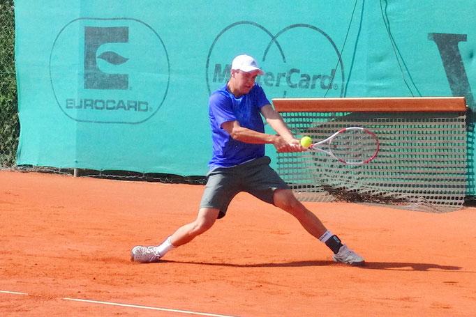 Viertelfinalist Hannes Wagner, TC Großhesselohe