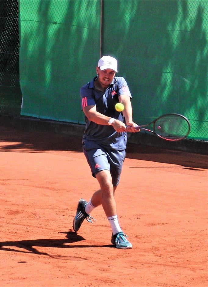 Halbfinalist Hannes Wagner