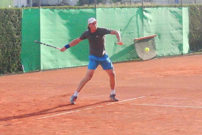 Halbfinalist Dominik Wirlend, TC Weiss-Blau Landshut