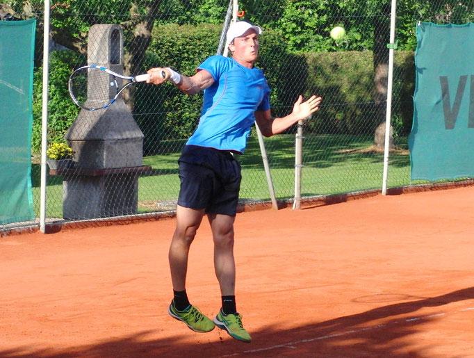 Viertelfinalist Dominik Wirlend