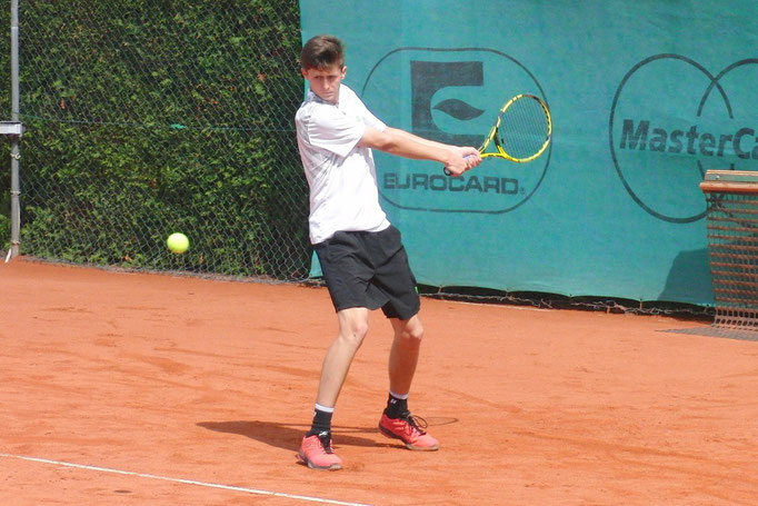 Viertelfinalist Luis Erlenbusch, Tennisclub Rüppurr