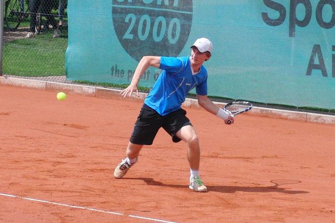 Halbfinalist Jannis Kahlke, TK Blau-Weiss Aachen