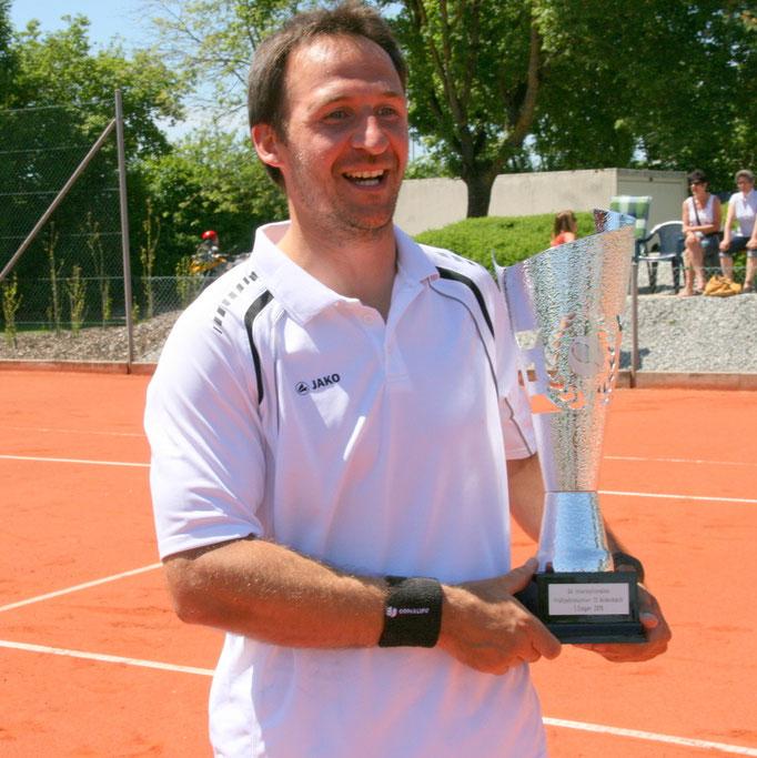 Turniersieger Andre Wiesler