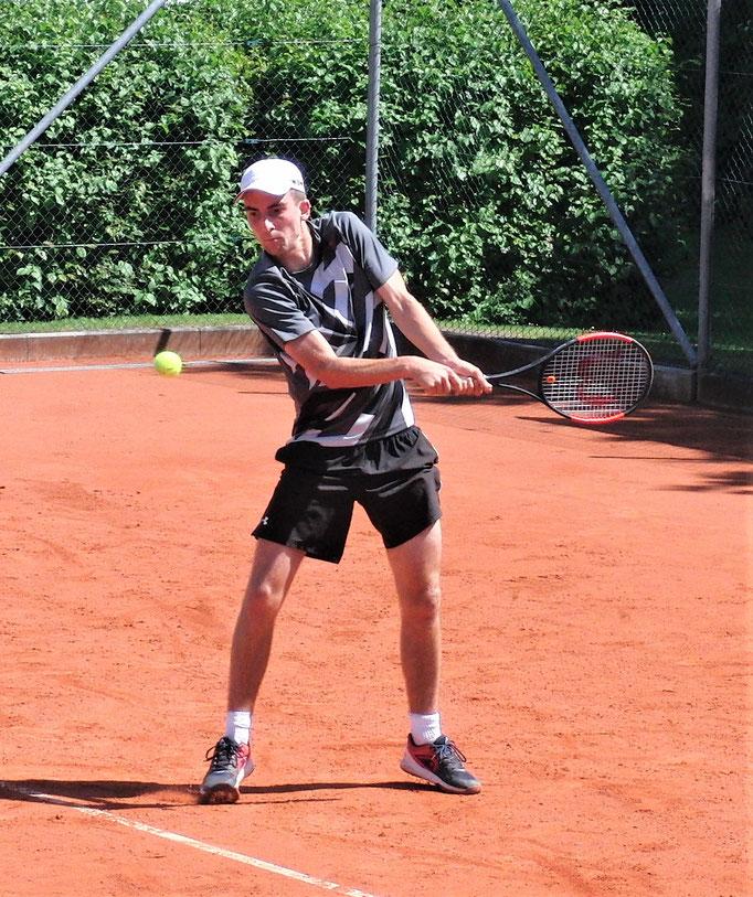 Viertelfinalist Marcel Strickroth