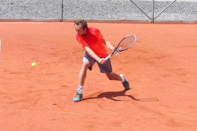 Viertelfinalist Christian Lichtenegger, TC Rot-Blau Regensburg