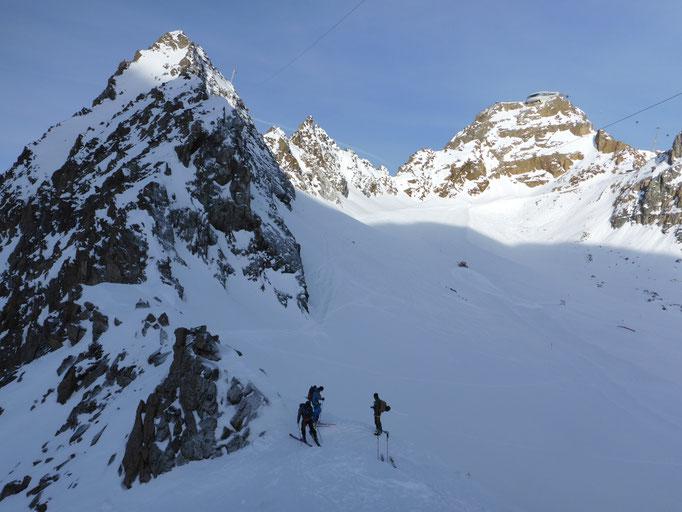 Bergführer Schitour Wildspitze