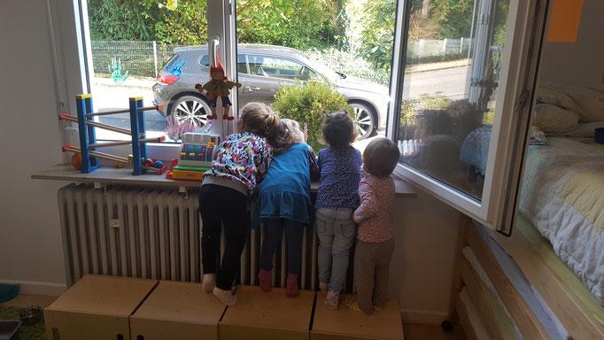 Tageskinder beim Spielen