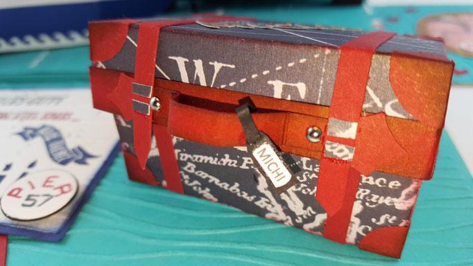 In den Koffer passen Geld oder Süßigkeiten