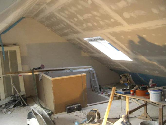 Innenausbau Dachgeschoss