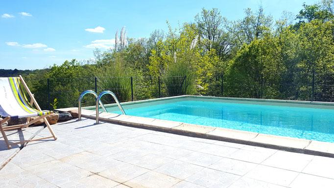 La Truffière piscine privée (8-4 m)