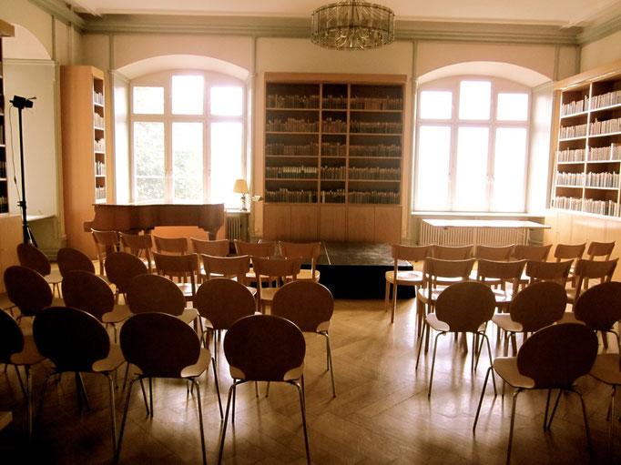 Sachersaal der Allgemeinen Lesegesellschaft
