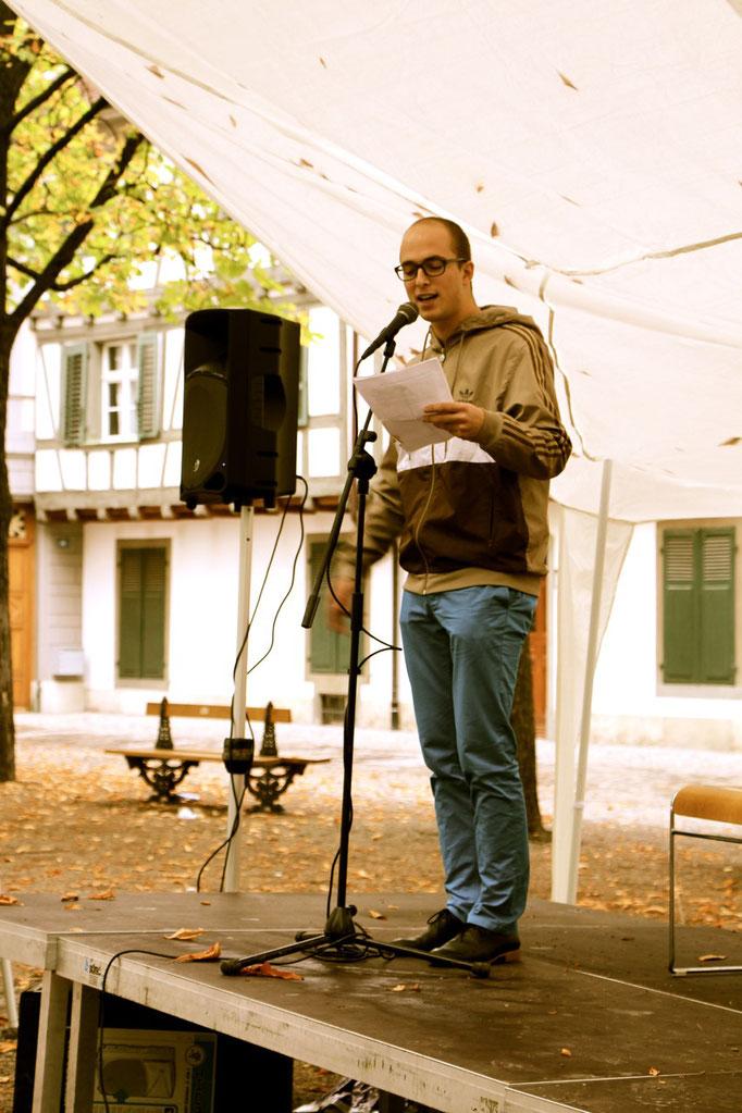 Manuel Diener, Slam-Poet