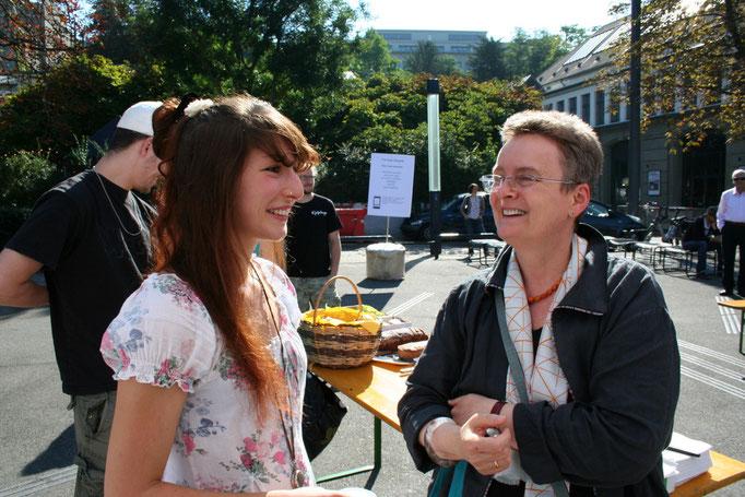 Alisha Stöcklin im Gespräch mit Dagmar Brunner von der ProgrammZeitung.