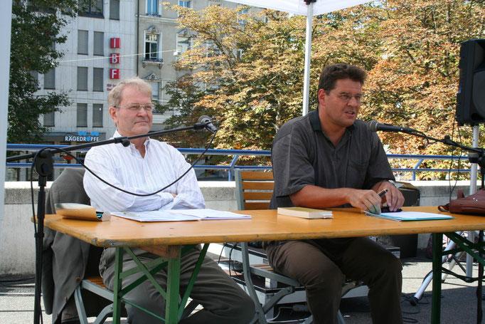Gedicht-Exegese von Prof. Dr. Wolfram Malte Fues und Prof. Dr. Ralf Simon.