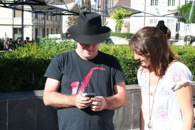 Andrew Shields mit Alisha Stöcklin
