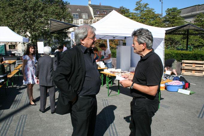 Urs Breitenstein und Hans-Ulrich Iselin.