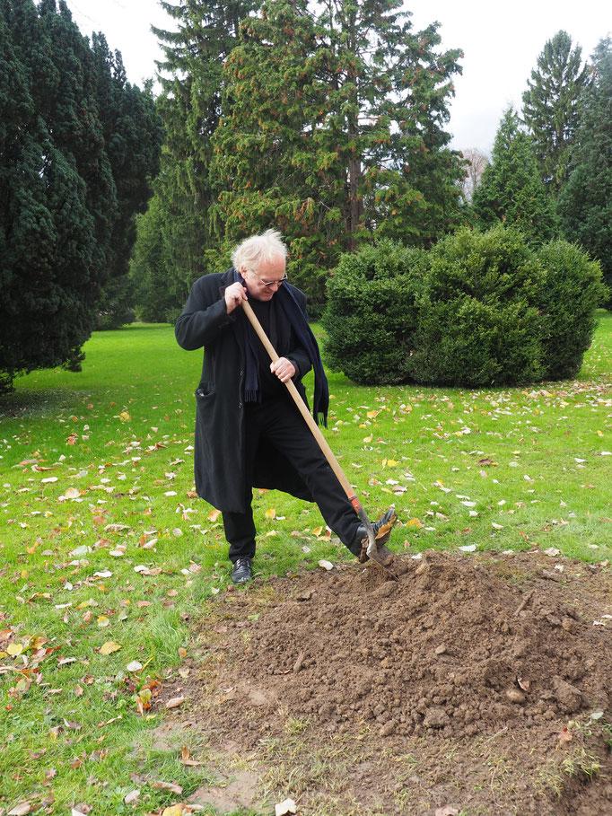 Pflanzung Baum der Poesie am 18.11.2016