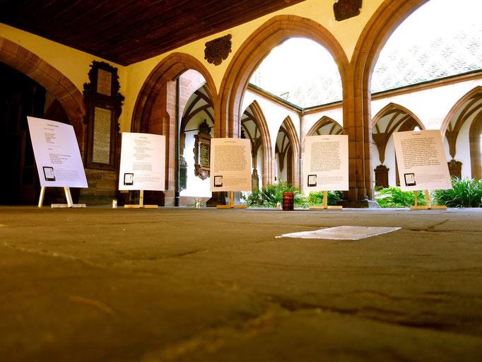 Kreuzgang - Im Andenken an einige im 2014 verstorbene Dichter und Literaten