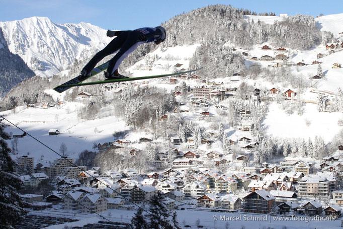 Weltcup-Skispringen Engelberg 2010