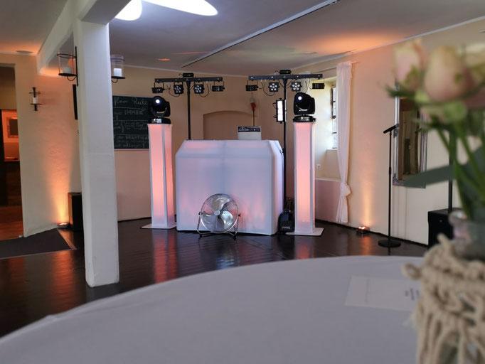 Hochzeit Schloss Diersfordt Raum Cottage