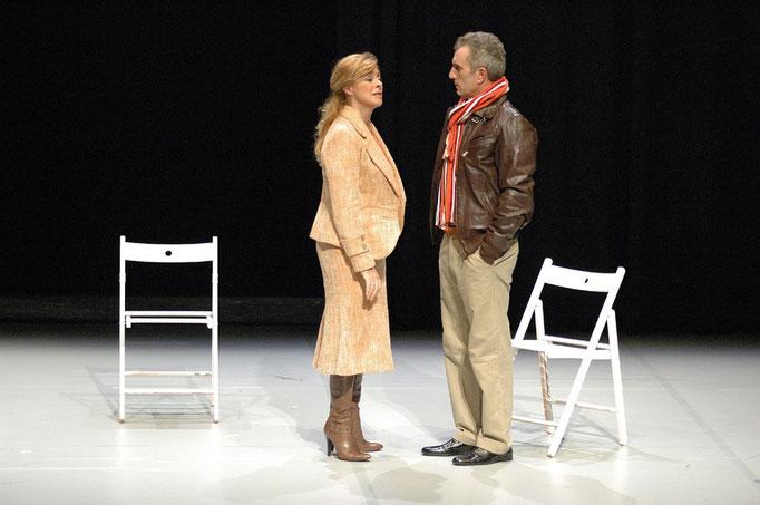 LA MUJER QUE SE PARECÍA A MARILYN - Eduardo Galán [Teatro Juan Bravo (Segovia), Diciembre 2006: escenografía]
