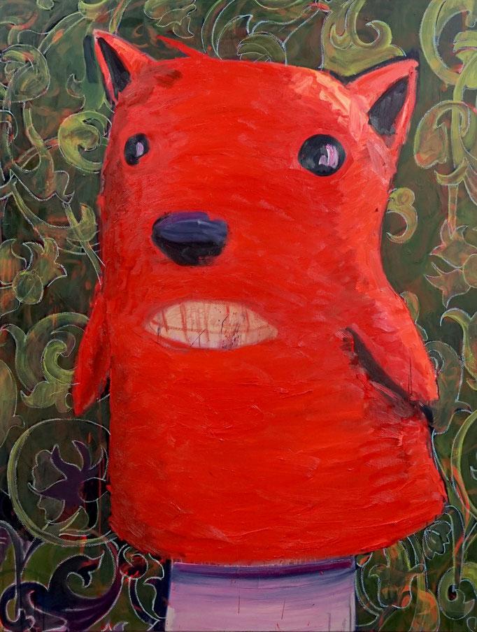 Philipp Kummer   I am pretty   2020   oil on canvas    160x120 cm