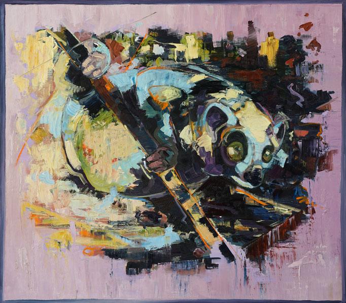 Philipp Kummer | echo of an echo | 2017 | Öl auf Leinwand | 150x170cm