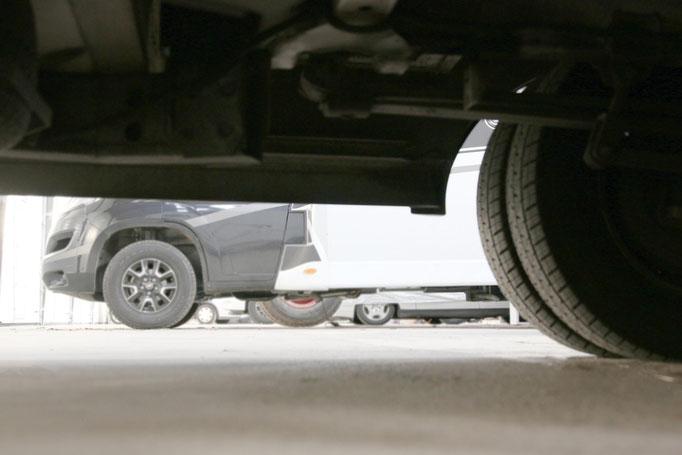 LKW-Abstellplätze, Fahrzeuge aller Art