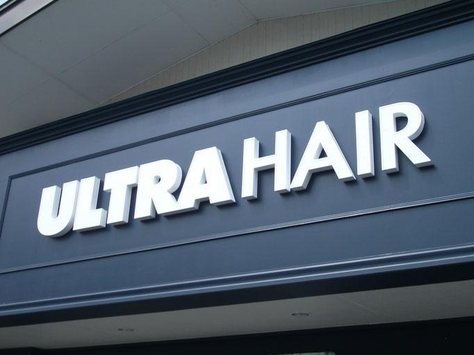ULTR HAIR、LED、チャンネル文字
