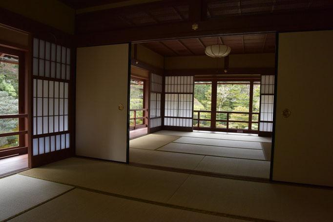 旧竹林院2階