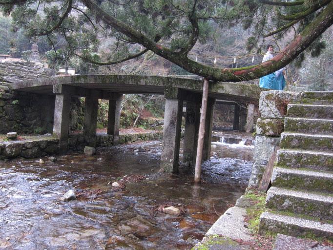橋のクローズアップ