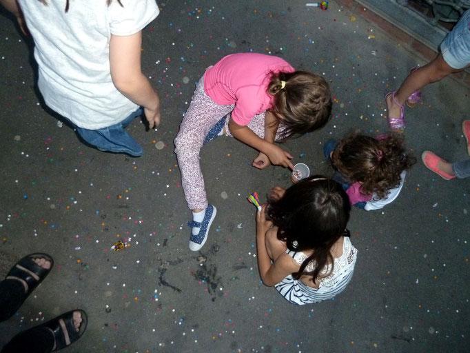 Des enfants thésaurisent ...