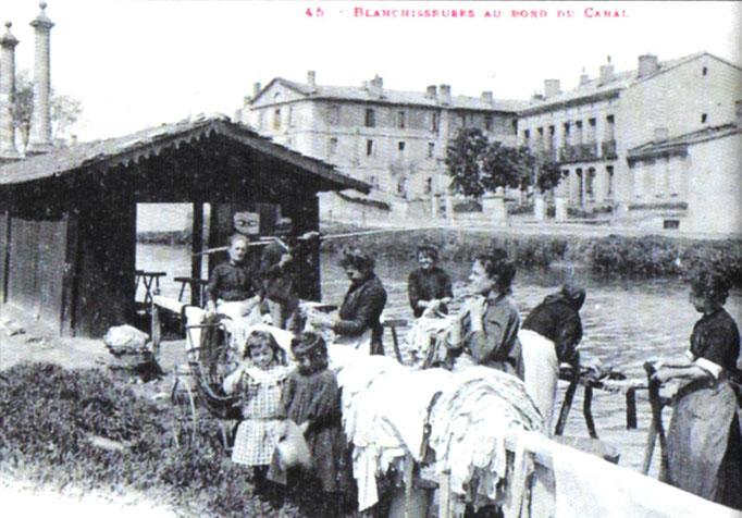 Retrouver le canal (en haut de la rue des Chalets)