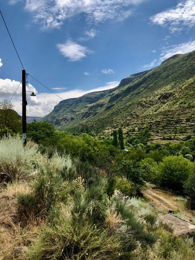 De prachtige vallei