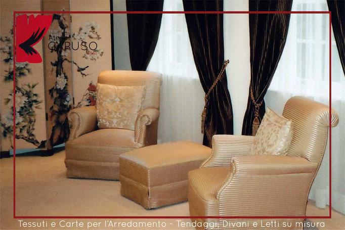 Tende classiche contemporanee atelier tessuti for Tessuti per arredamento country