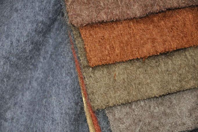 tessuti in lana per interni di montagna