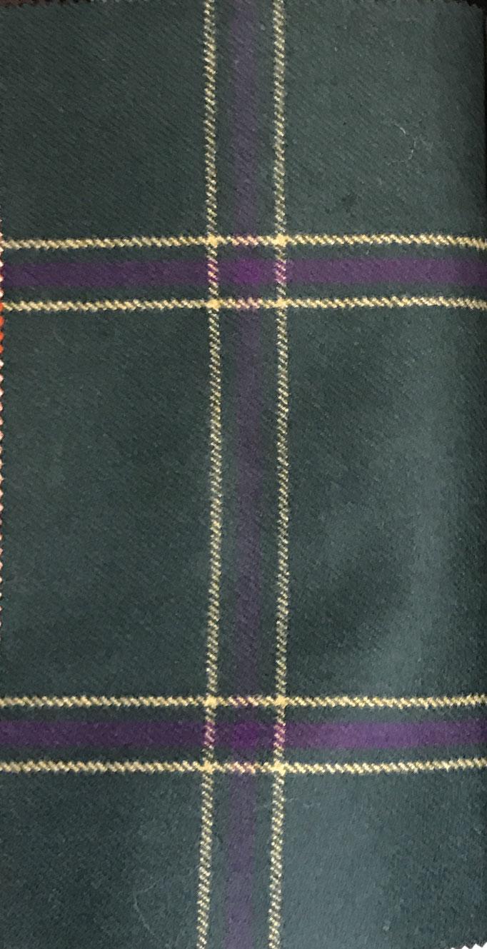 tessuti tartan in lana e cachemire per montagna