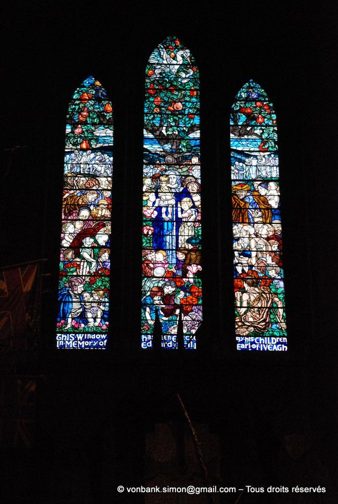 [NU002p-2016-0139] Dublin - Cathédrale Saint-Patrick : Vitraux du transept Nord