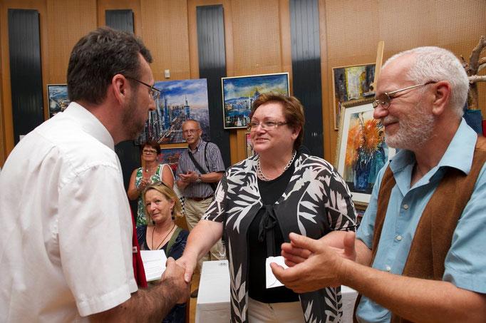 Vizebmb. Christian Gamsler gratuliert zum gelungenen Event