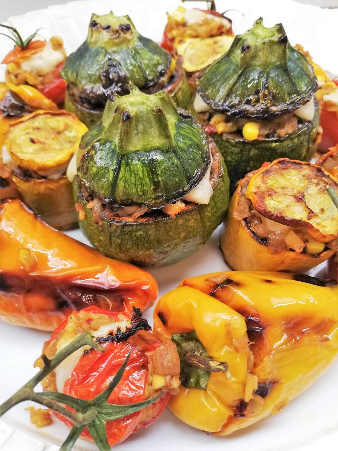 Petits légumes farcis à la Niçoise, Chef à domicile, chef à la maison, chef à domicile Grasse, Cours de cuisine à domicile, cours de cuisine Grasse, Chef Tristan Pontoizeau