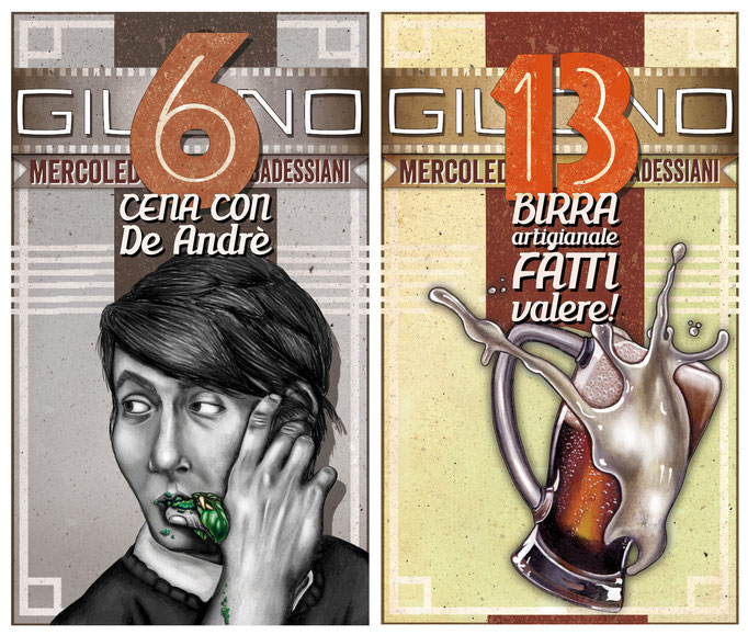 Restaurant's posters 2012- La Badessa